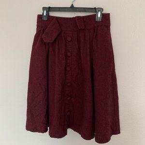 ModCloth Wool Skirt